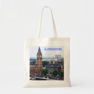 Tote de Londres Bolsa Tela Barata