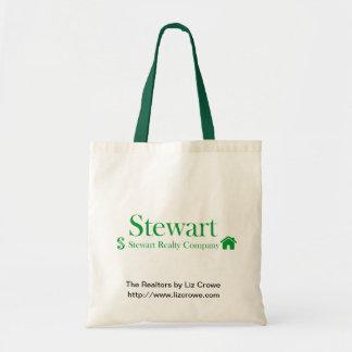 Tote de los bienes raices de Stewart Bolsa De Mano