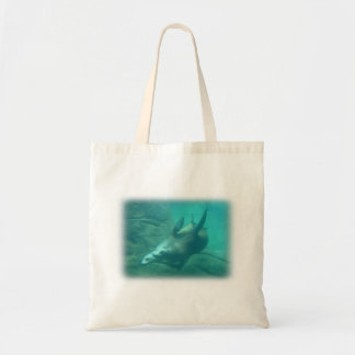 Tote de los leones marinos bolsa lienzo