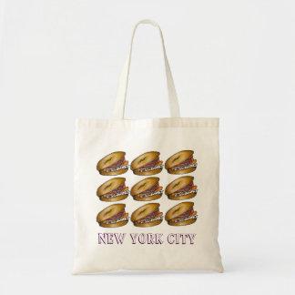 Tote de Nueva York de las alcaparras del queso