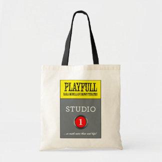 Tote de Playfull del estudio 1 Bolsa Tela Barata