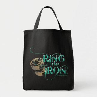 "Tote de ""Ring de Iron"" Bolsa Tela Para La Compra"