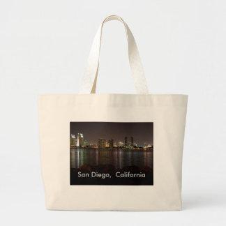 Tote de San Diego Bolsa Tela Grande