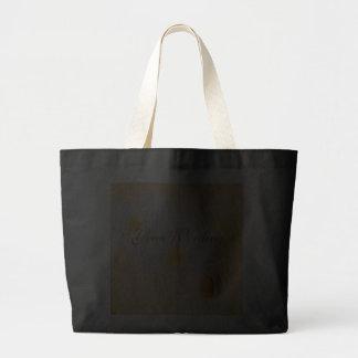 Tote del algodón de las orquídeas - personalizar bolsa lienzo