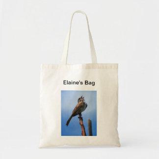 Tote del Birdsong Bolsa Tela Barata