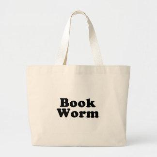 Tote del bolso del gusano de libro bolsas de mano