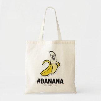 Tote del *Budget del plátano (chocolate oscuro) Bolsa Tela Barata