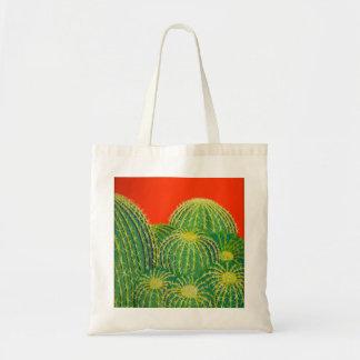 Tote del cactus de barril bolsa de mano