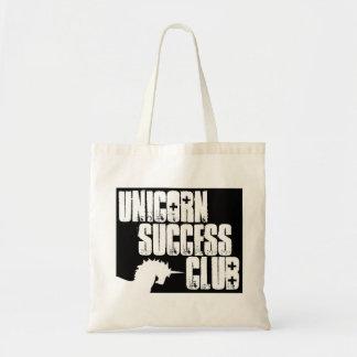 Tote del club del éxito del unicornio bolsas