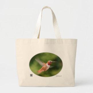 Tote del colibrí bolsas de mano