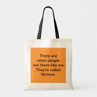 Tote del escritor bolsa tela barata