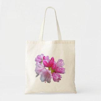 Tote del flor del rododendro bolsa