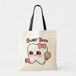 Tote del gusto por lo dulce bolsa
