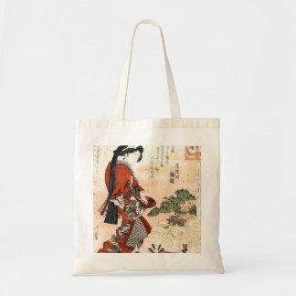 Tote del japonés del arte del vintage bolsa tela barata