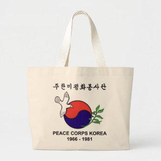 Tote del jumbo de Corea del cuerpo de paz Bolsas De Mano