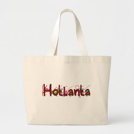 Tote del jumbo de Hotlanta 2 Bolsa Tela Grande