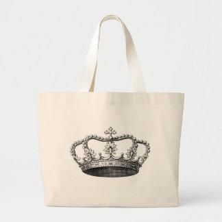 Tote del jumbo de la corona bolsas