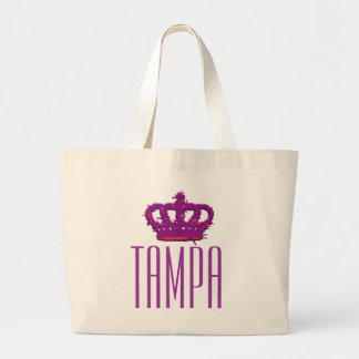 Tote del jumbo de la corona de Tampa Bolsa Tela Grande