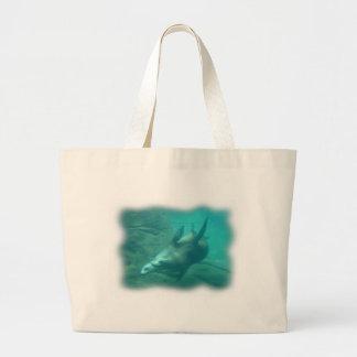 Tote del jumbo de los leones marinos bolsas