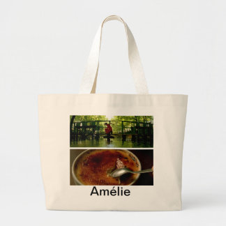 Tote del jumbo de los placeres simples de Amélie Bolsa