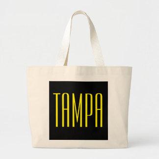 Tote del jumbo de Tampa Bolsa Tela Grande