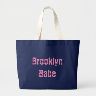Tote del jumbo del bebé de Brooklyn Bolsa De Tela Grande