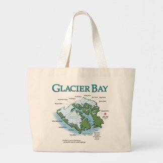 Tote del jumbo del Glacier Bay Bolsa De Tela Grande