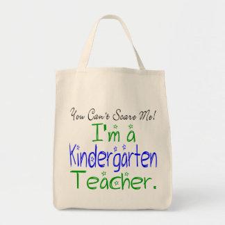 Tote del maestro de jardín de infancia bolsas lienzo