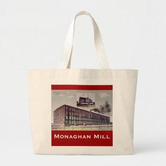 Tote del molino de Monaghan Bolsa Tela Grande