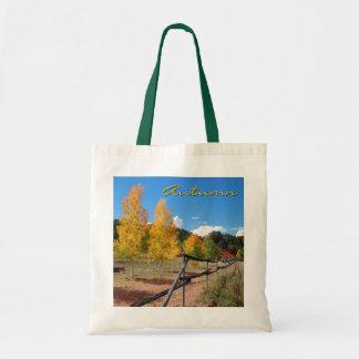 Tote del otoño bolsa tela barata