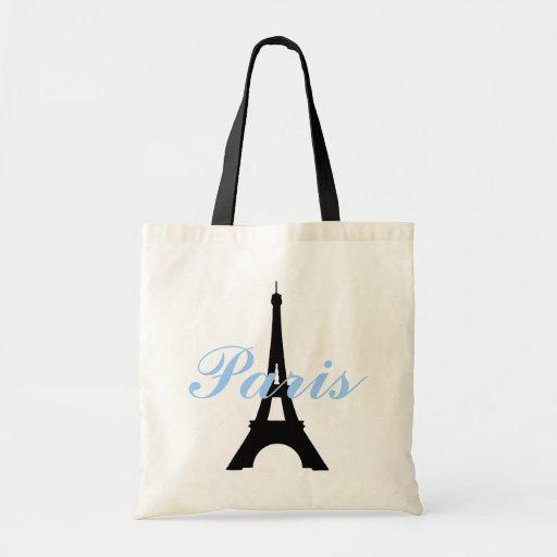 Tote del presupuesto de la torre Eiffel de París Bolsa