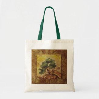 Tote del presupuesto de los bonsais bolsa tela barata