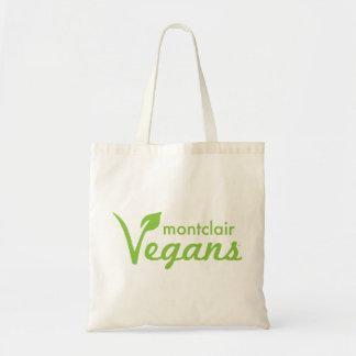 Tote del presupuesto de los veganos de Montclair Bolsa Tela Barata