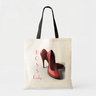 Tote del presupuesto de los zapatos de la señora t