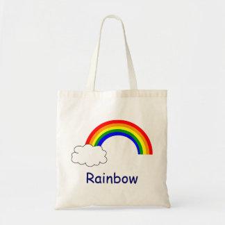 Tote del presupuesto del arco iris