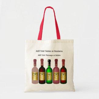 Tote del regalo del vino - SRF Bolsa Tela Barata
