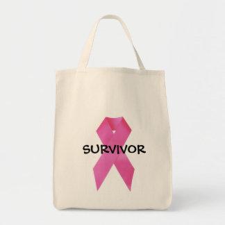 Tote del superviviente bolsa tela para la compra