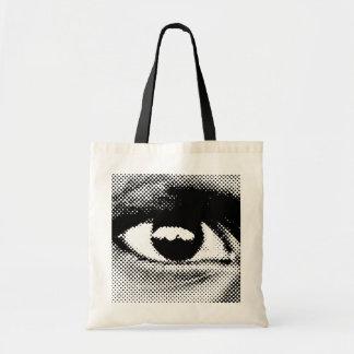 Tote del TESTIGO eye#1 Bolsa Tela Barata