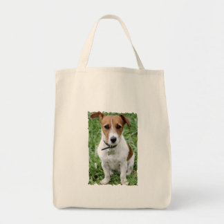 Tote del ultramarinos de Jack Russell Terrier Bolsa De Mano