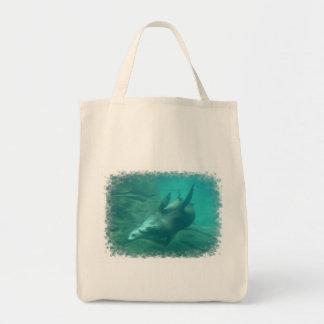 Tote del ultramarinos de los leones marinos bolsa