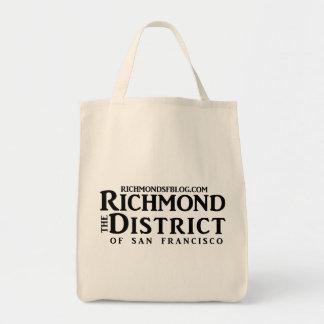 Tote del ultramarinos del blog de Richmond Bolsa Tela Para La Compra