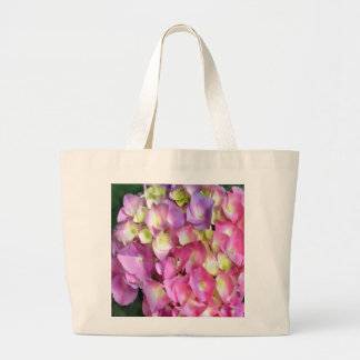 Tote del ultramarinos del flor del Hydrangea Bolsa De Mano