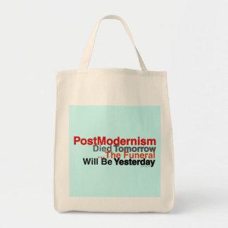Tote del ultramarinos del Postmodernism Bolsas