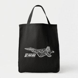 Tote del ultramarinos del RAPAZ F-22 Bolsa Tela Para La Compra