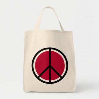 Tote del ultramarinos del signo de la paz bolsa