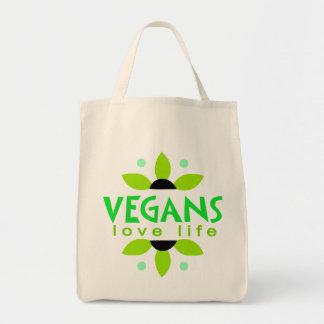 Tote del ultramarinos del vegano