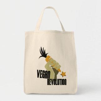 Tote del vegano bolsa tela para la compra