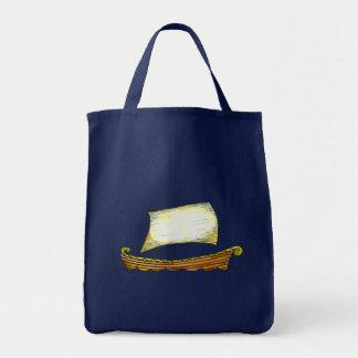 Tote del velero de los nórdises bolsas de mano