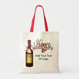 Tote del vino del presupuesto - SRF Bolsa Tela Barata