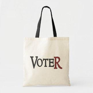 Tote del votante bolsas